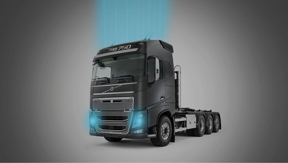 Messaging brengt u in contact met de truck
